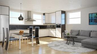 Kitchen 3D Rendering London