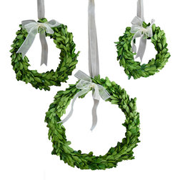 Traditional Wreaths And Garlands by MILLS FLORAL COMPANY