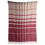 """Roros Tweed - Filos, Burgundy - """"Filos is a soft and light throw. Your friend in a cool summer night or in front of the fireplace, perfect to sweep around your shoulders or wrap yourself in."""