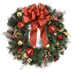 Traditional Wreaths And Garlands by Floral Home Decor