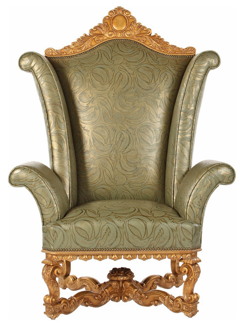Renaissance Wing Chair By Phyllis Morris
