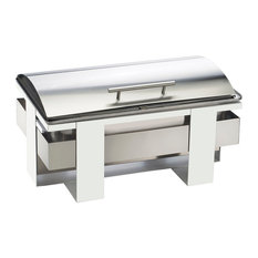 12X20 Chafer Wht/Stainless