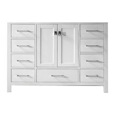 """Caroline Avenue 48"""" Cabinet Only in White"""