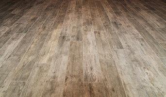 Heated basement tile floor