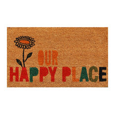"""""""Our Happy Place"""" Doormat"""