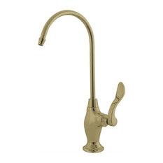 Kingston Brass 1/4 Turn Water Filtration Faucet, Polished Brass
