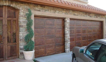 Natural Wood Garage Doors