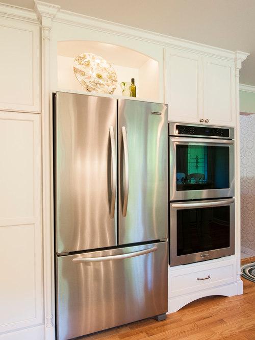 Open Area Above Refrigerator | Houzz