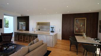 Auckland City Villa Kitchen