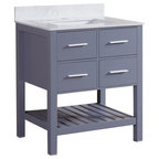 "Mirabelle Mir2419R 24"" Stainless Steel Bathroom Console ..."