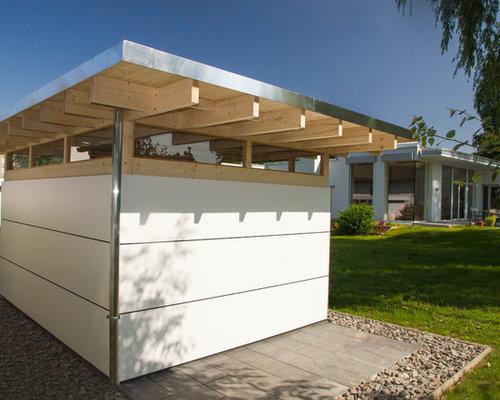Moderne gartenh user classic - Gartenhaus fassadenplatten ...