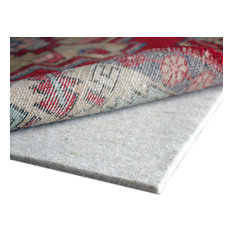 "Eco Plush 100% Rug Pad, 8'x10', 1/2"" Thick Felt"