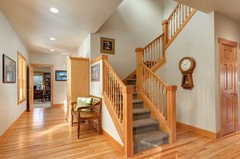 Hardwood Floors With 90 S Oak Trim