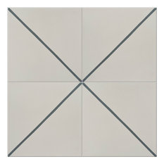 Pinstripe Pattern Tiles, Set of 12