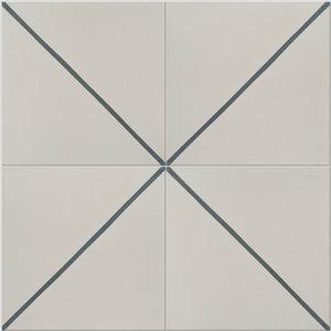 Pinstripe Pattern Tiles, Set of 12