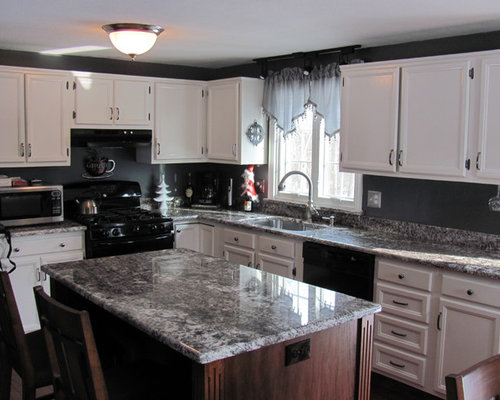 Attractive White Torroncino Granite Countertop