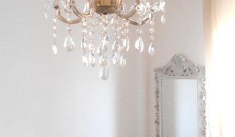 Maria Teresa style chandelier for bedroom