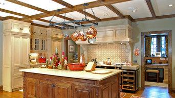 English-Style Kitchen--Atlanta