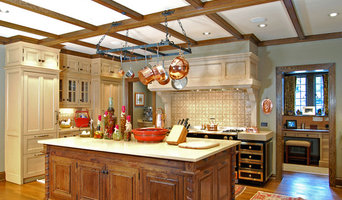 English-Style Kitchen--Atlanta