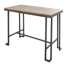 Brikk Strayer Counter Table Indoor Pub And Bistro Tables