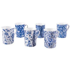 Macao Coffee Mugs, Set of 6