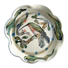 Large Baking Dish with Crab Design