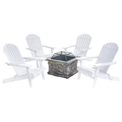 Beach Style Outdoor Lounge Sets by GDFStudio