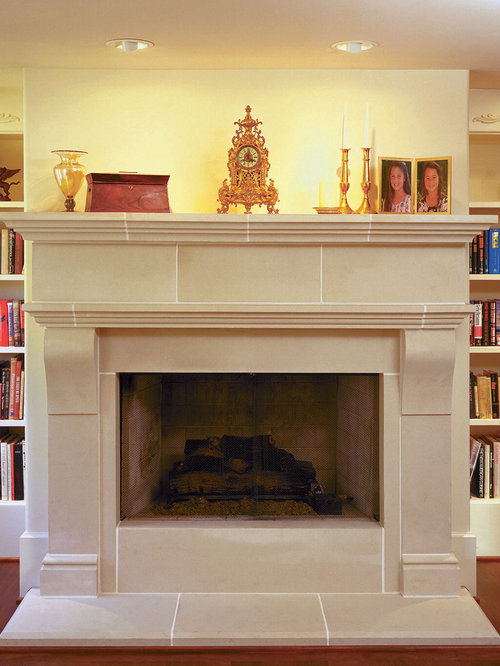 cambridge cast stone fireplace mantel indoor fireplaces
