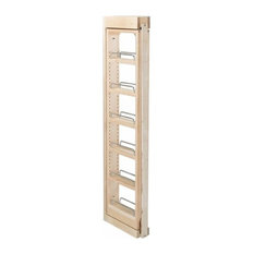 """Rev-A-Shelf RS432.WF42.3C 3""""x42"""" Wall Filler Pull Out, Wood"""