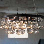 Artic Pear Chandelier