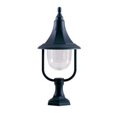 Outdoor Pedestal, Black Polycarbonate