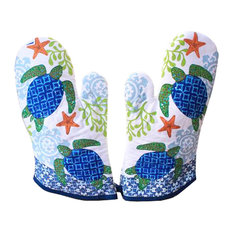 Oven Gloves, Non-Slip Kitchen Oven Mitts, Heat Resistant Cooking Gloves