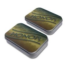 Honor Hunter Green Clouds Tin Set