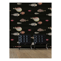 Acquario Wallpaper, Black