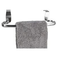 """Chrome Plated Steel 15"""" Over the Cabinet Towel Bar"""