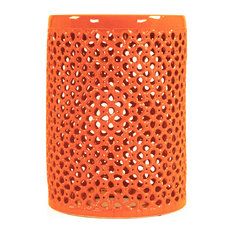 Lanie Garden Stool, Orange