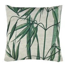Bamboo Palm Print Cushion