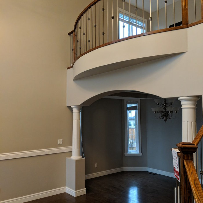 High Walls, Stairways, Foyers