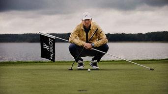 Porträtt av Alex Noren golf proffs