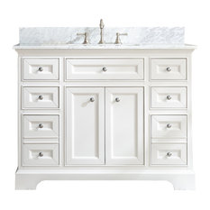 South Bay 43-inch Bathroom Vanity White Finish