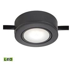 Tuxedo Swivel Utility Lighting Under Cabinet, Black