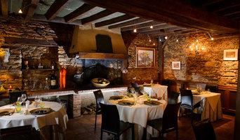 Realizzazione sedute sala ristorante Au Berge de la Diligence