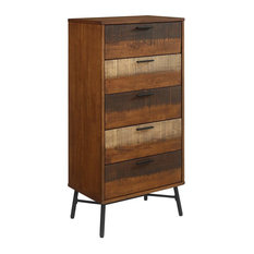 Arwen Rustic Wood Chest, Walnut