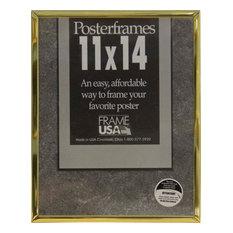 Gold Hardboard Poster Frame, 11X14