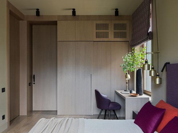 Современный Спальня by Дизайн-бюро Татьяны Алениной