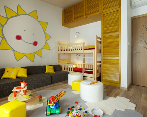 sofa kinderzimmer ideen bilder houzz. Black Bedroom Furniture Sets. Home Design Ideas