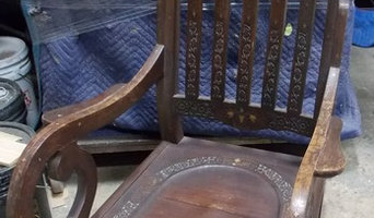 Stan Br Inlay Rosewood Rocking Chair Contact Bullocks Furniture