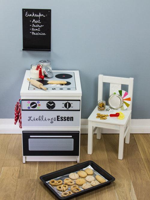 ikea kinderküche selber bauen möbelsticker / diy play kitchen