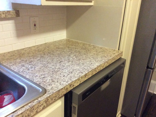 Nervous About Laminate To Granite