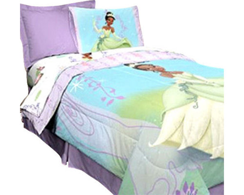 Store51 Llc Disney Princess Frog Purple Vine Twin Bedding Set Kids Bedding